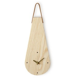 [P][WOODSTUDIO ALP] 애쉬드롭 벽시계 ASH DROP CLOCK