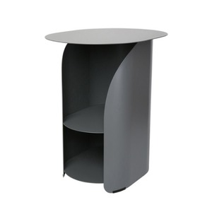 [bmotto] 커브사이드테이블 Curve side table_gray